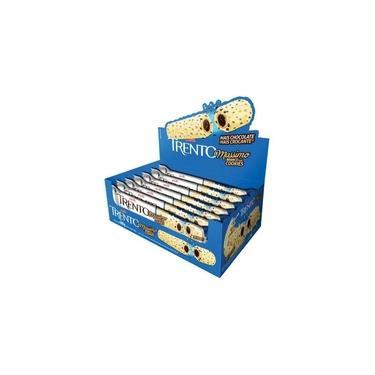 Chocolate Branco Trento Massimo Com Cookies 30gr C/16un - Peccin
