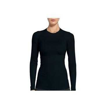 Camisa Lupo Compressão Térmica Fem. M/ Longa Preto 71012-001