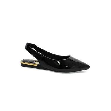 Sapato Feminino Preto Vizzano Chanel