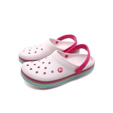 Sandália Crocs Perfuros Rosa Crocs 205801-6PI feminino