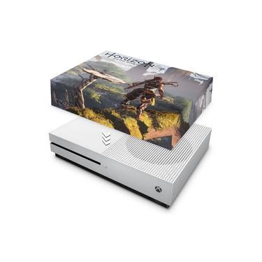 Capa Anti Poeira para Xbox One S Slim - Horizon Zero Dawn