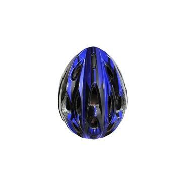 Capacete Ciclista Adulto Azul Tamanho U Regulável 54-60cm