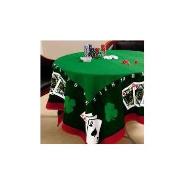 Imagem de Toalha De Mesa Para Jogos Cartas Poker Truco Baralho Lepper -