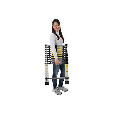 Escada Telescópica Alumínio 10 degraus 312cm  - Mor