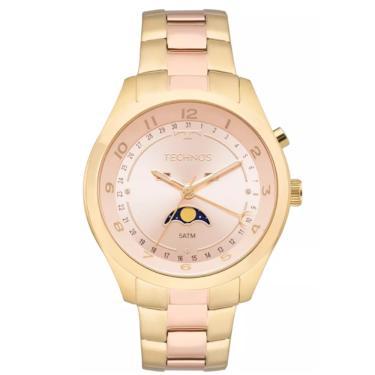 abb51fa40d4 Relógio Feminino Technos Ladies 6P80AB 5J - Dourado Rosê