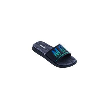 Chinelo Mormaii Quiver Pro Gaspea 11406 Grendene - Azul/azul/verde