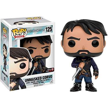 Funko Pop! Games: Dishonored 2 - Unmasked Corvo #125 Exclusive