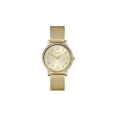 Relógio de Pulso Timex Metal   Joalheria   Comparar preço de Relógio ... afd253ded5