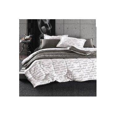 608318f864 Jogo de Cama Danton Percal 180 fios - Queen - Karsten