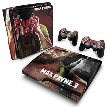 Skin Adesivo para PS3 Slim - Max Payne