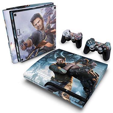 Skin Adesivo para PS3 Slim - Uncharted 2