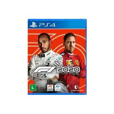 Jogo - Fórmula 1 2020 Ps4 (Mídia Física)