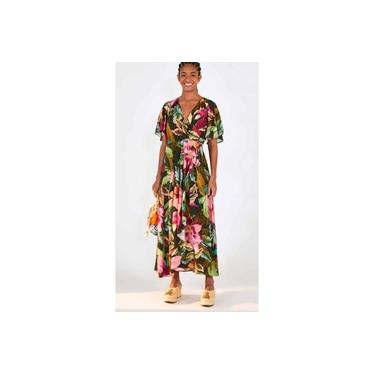Vestido Farm Cropped Pincelada de Flor