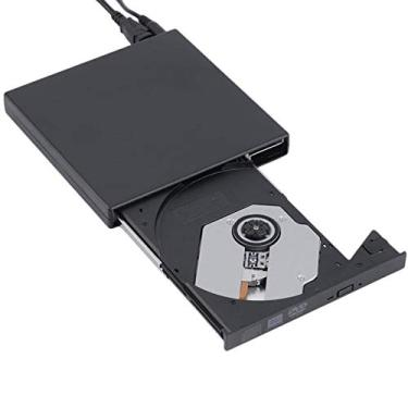 Drive Externo Slim Usb Gravador/leitor Cd E Dvd Na Cx