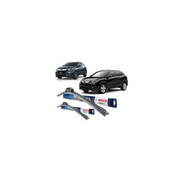 Par palheta limpador parabrisa ORIGINAL Bosch Honda HRv HR-v EXL LX EX 2015 2016 2017 2018