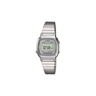 23178f6ef40 Relógio Feminino Vintage Digital Fashion La670wa-7df - Casio -