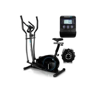 Elíptico Bike Podiumfit EB100 Magnético 8 cargas Max 120kg