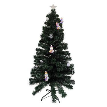 Arvore Natal Fibra Natalino 1 Metro 20Cm Estrela 125 Galhos