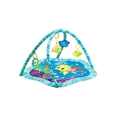 Imagem de Tapete Infantil Fundo Do Mar Colorido Mastela