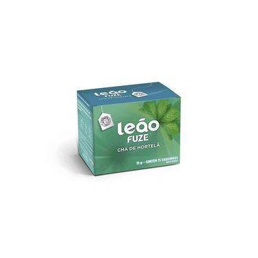 Chá Leão Hortelã 15 Gramas Caixa 15 Sachet Premium