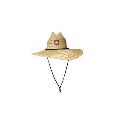 Chapéu de Palha Quiksilver Pierside Moda Praia Bege