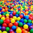 Bolinhas Para Piscina De Bolinhas Coloridas - 100 Unidades