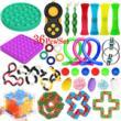 36Pcs Sensory Toys Fidget Pop It Stress Relief Fidget