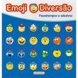 Livro - Emoji Diversão Azul - Passatempos e Adesivos