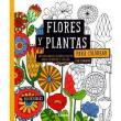 Flores y Plantas Para Colorear. 30 Originales Diseños Para Colorear y Colgar - Lisa Congdon - 9789089985118