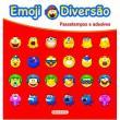 Livro - Emoji Diversão Vermelho - Passatempos e Adesivos