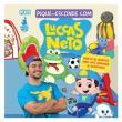 Livro Infantil de Atividades - Pique Esconde com Luccas Neto - Catavento