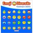 Emoji Diversão Azul
