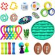 29pcs/set Pop Autism Relief Anxiety Stress Stress Bubble Fidget Toy