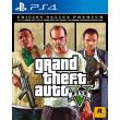 Grand Theft Auto V GTA 5 Premium Online Edition - PS4